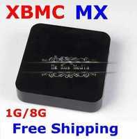 Smart Android TV Box 4.2.2 Dual Core XBMC Midnight MX 1G RAM 8G ROM Dual ARM Cortex A9 Build in WiFi Free Shipping 1pcs