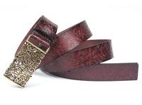 belt NEW 2014 Genuine leather belts for women, vintage genuine leather belt, strap