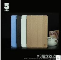 "Fnf ifive x3 Super Slim Silk PU Leather stand cover case, ifive x3 10.1"" leather protective case purse, 4 color"