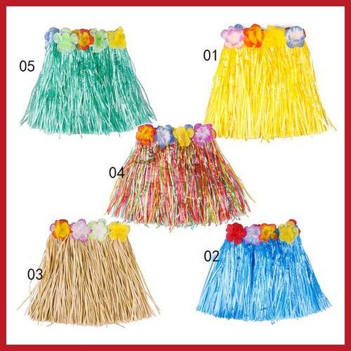 Prêmio ! buyoneer Hot Hawaiian grama Luau Saia Flores Luau Casamentos Beach Party Costume 24 horas despachar promoção Hot!(China (Mainland))
