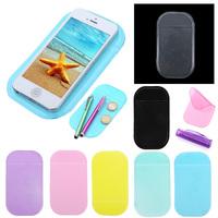 Multicolor Powerful Silica Gel Anti-Slip Car Dashboard Non-slip Mat Magic Sticky Pad for Phone PDA mp3 mp4 Car Accessories