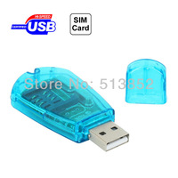 USB 2.0 Tablet PC SIM Card Reader Support GSM / CDMA / WCDMA / PC / Notebook
