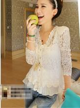 crochet blouse promotion