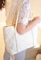 Hotsale New  Lace Designer PU Handbag 2014 HOTSALE!! Lace Bags Wholesale