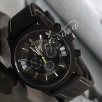 Retail 2014 New Men's Quartz Watches, Good Qulity PC Moments Silicone Stap Men's Watches, Sports Watches,Free Shipping