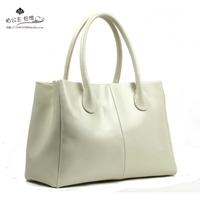 fashion genuine leather cowhide women's handbag ladies female's handbag