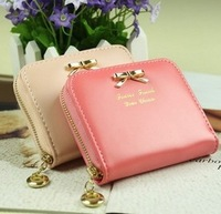 Fashion Girls & Lady Wallets Short Purse Coin Card  Mini Change Purse Lowest price wellets Free shipping