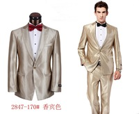 2014 tuxedos for men suits with pants best quality one button wedding suits for men plus color size S-4XL