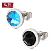 Magnet male single magnet lovers design earrings super man and stud earrings for women TE020
