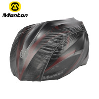 Monton ride helmet set helmet cover rain hat bicycle wigs sunscreen water-resistant radiation-resistant antibiotic