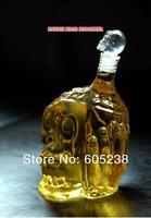 6 pcs 450ml Small Size Zombie Head Decanter / Zombie Wine Bottle Hip Flasks ( Skull Bottle Mug Glass  Doomed ) Holloween