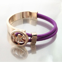 trendy &fashion US classical leather bracelet,best gift,high quality &low price