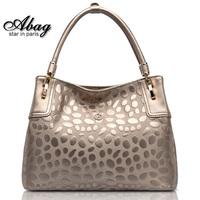 2014 spring female one shoulder fashion vintage cowhide portable women handbag