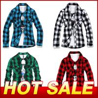 Cheap Spring 2014 Men Long Sleeve Shirt Slim Casual Dress Men's Clothing Fashion Brand Designer Cotton Paid Shirts Camisas X291