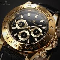 Ks Imperial Luxury Calendar Day Date Display Male Clock Relojes Hombre Full Steel Auto Mechanical Golden Case Mens Watch / KS164