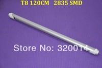 T8 led Tube 2 years warranty 120CM 18w 80LED 2835 SMD 1900LM 185-260V 200PCS/LOT