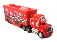 Pixar Cars 2 Mack Trucks Diecast Alloy NO STALL # 123 Truck Hauler Toy car  Free Shipping !