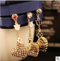 Min.order is $ 10 (Mix order) Free Shipping new 2014 Pierced Heart dustproof plug earphone jack cellphone dust cap