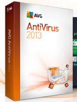 FREE SHIPPING DHL /EMS FOR  AVG Anti-Virus 2014 2013 antivirus software 4Years 3PCs 3 Users