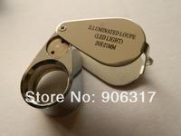 LED Power ,20X-21mm  Jeweler's Loupe 1 pcs / lot