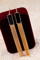 Fashion earrings long design tassel fashion elegant earrings female decoration