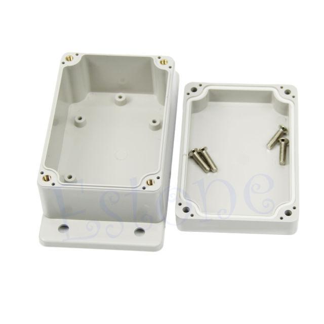 "F85 Free Shipping Waterproof Plastic Electronic Project Box Enclosure Case 3.94"" x 2.68"" x 1.97""(China (Mainland))"