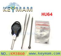Free shipping 2014 New type The car key restructuring tool HU64,Benz car key combination tool HU64