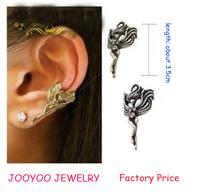 24PCS/LOT Free Shipping Angel Ear Cuff Vintage Punk Earring For Women&Men Free Shipping 0427123