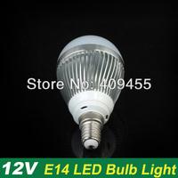 Wholesale(10pieces/lot)AC/DC12V Led Bulb E14 3w 4w 5w 6w 7w 9w lighting Warm/White LED Light Bulb Lamp