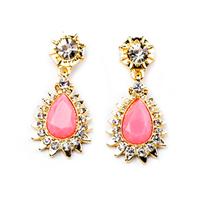2014 Fashion Jewellery Pin Water Drop Earrings For Women 140321 Free Shipping Wholesale