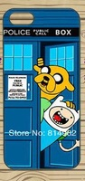Free shipping  5pcs/lot adventure time tardis doctor who Protective Cover Case For iPhone 5s 5