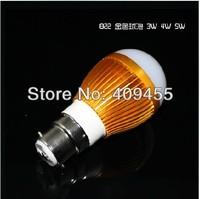 Wholesale(10pieces/lot) B22 AC/DC12V Led Bulb 3w 4w 5w 6w 7w 9w lighting Warm/White LED Light Bulb Lamp