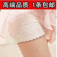Lace decoration safety pants female legging shorts plus size trousers