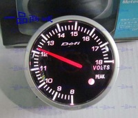 2.5 INCH 60MM Auto Defi Gauge, car meter Volt Voltage Meter, RED and White Colors Light , Fast Shipping
