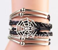 Spider Web Man Bracelet in Silver--Best Chosen Gift--Persomalized Bracelet