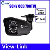 Video  Day Night Vision CCTV IR Home Video Security Camera Weatherproof 24 Infrared LEDs Bonus Bracket for Surveillance System