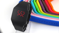 Color Storm New Touch screen LED watch Digital Colorful Silicone sports watches for unisex