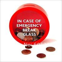 SUCK UK In Case Of Emergency Break Glass Money Box