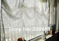 Lace tyra draw string balloon blinds Australia curtain Roman shade gauze shade curtain shade curtain waterfall coffee