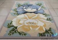 Pure wool carpet living room carpet coffee table carpet rustic flower carpet