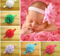 Children headband flower ornament