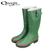 2014 spring and autumn high rubber slip-resistant rainboots rain shoes water shoes men's rain boots