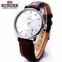 Brand unisex Luxury christmas watch automatic good quality Skeleton Mechanical coffee brown strap wristwatch original gift box
