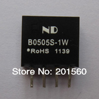 50pcs/lot DC-DC Converters 5V to 5V 1W Isolated dc-dc power supply modules Voltage Regulator Free shipping