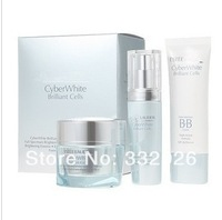 New CyberWhite Brilliant Cells Brighten and Perfect Set 30ml + 50ml +50ml For All Skintypes 3pcs/set on sale nice xmas gift HOT