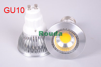 new 2014 6 pcs High Bright 5w/7w/9w COB led spotlight GU10 Cool White/Warm White dimmable AC100-240V lamp Lighting Epistar