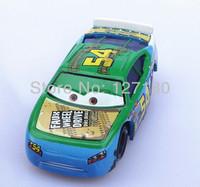 Free Shipping 100% original Pixar Cars 2 Toy Cars  # 54 Faux Wheel Raceing Car Diecast Metal Car Model Toy
