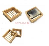 Hot selling natural wooden soap box soap holder wooden soap box 100pcs