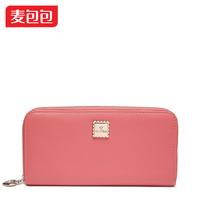 2014 day clutch cowhide design women's long clip wallet Women wallet