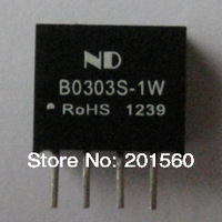 50pcs DC DC Converter B0303S-1W Isolated dc-dc power supply modules Free shipping